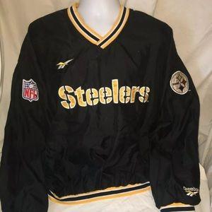 Vintage Pittsburgh Steelers Reebok jacket